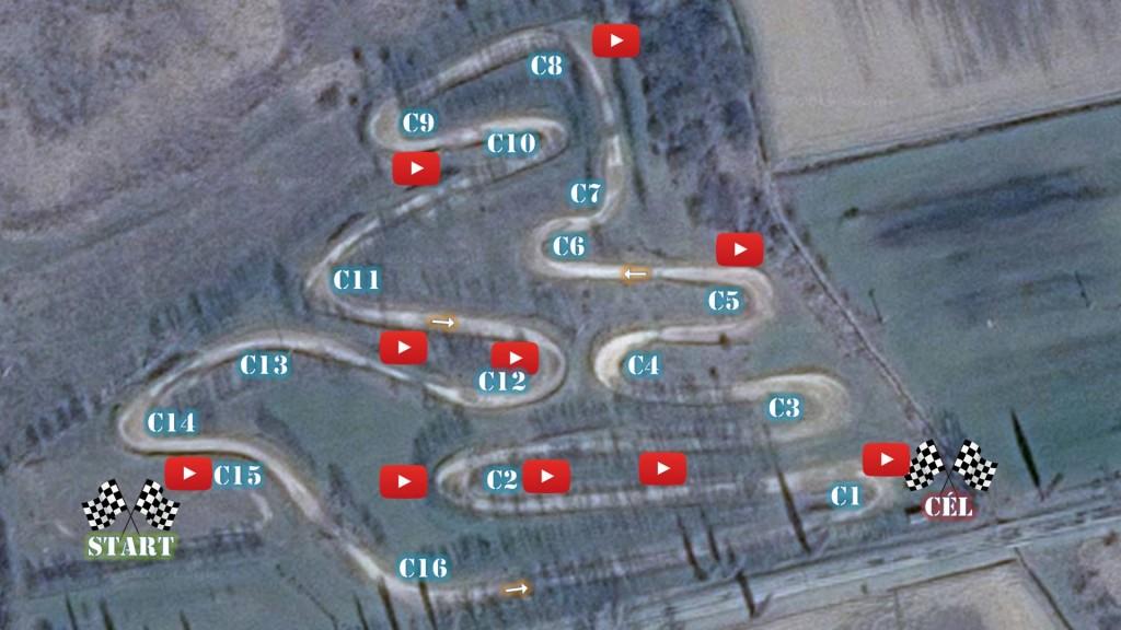 Zselickislak térkép